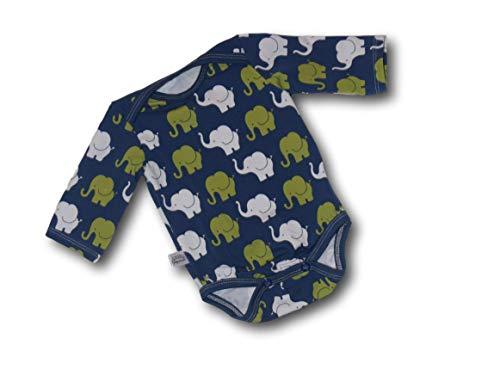 Body Elefant, Elefantenparade Langärmig, 44, 50, 56, 62, 68, 74, 80, 86, 92