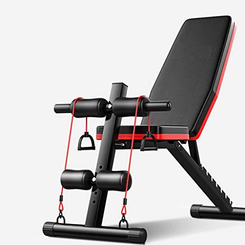 Wwrb Flachbank, 7 Adjustable Faltbare Sit Up Barbell Training Hantel Hocker Bank Multi-Purpose Für Home Gym Utility Für Ganzkörpertraining Für Schulter Chest Press