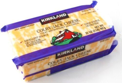 カークランドシグネチャーコルビージャックチーズ907g1個