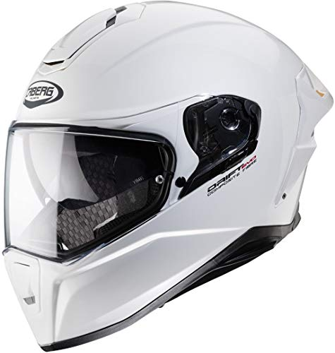 Caberg Herren Drift EVO Motorradhelm, weiß, S
