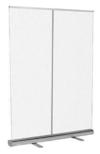 Byakns Pantalla protectora transparente Roll Up Banner Transparente Roll Up Banner | Piso de pie SNUBEZE SNUBEEZE PANTALLA, BOLSA DE LLEVADOR, ESPAÑOL (Size : 600x1600mm(23.6x62.9in))