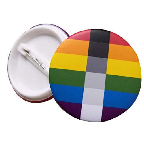 1pcs del Orgullo del Transexual Pernos Pernos De La Solapa Es Botón Botones del De La Insignia del Pin De La Paz Diversidad