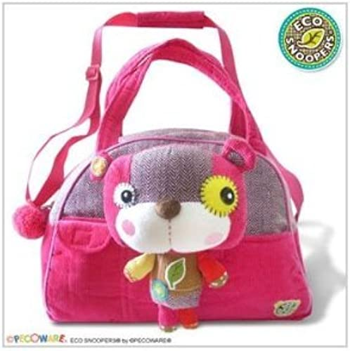 Pecoware Eco Snoopers Smile-A Lot Bear Duffel Bag by PECO