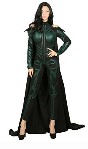 Hela Cosplay Custome Outfit Suit for Womens Halloween M