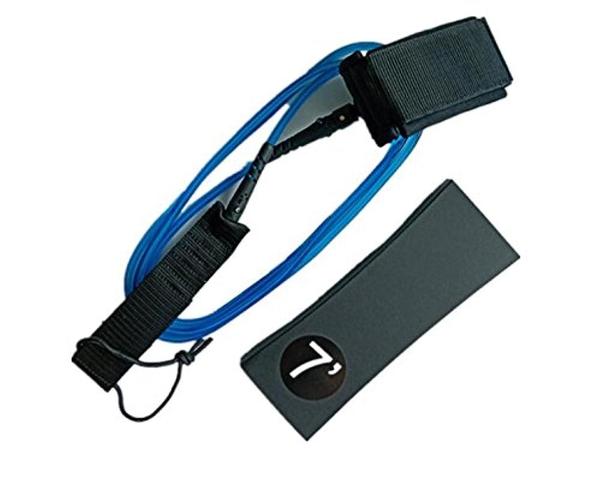 反対した人工的な差別RaiFu リーシュコード サーフリーシュ フット ロープ セーフ ストラップ ボード用 7ft 7mm