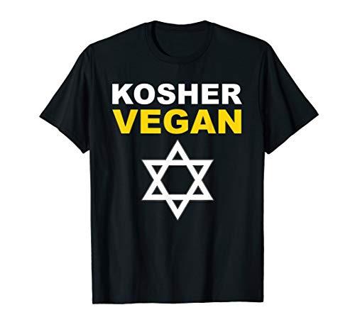 KOSHER VEGAN Gift Jewish CHEF Cook T Shirt Birthday Hanukkah