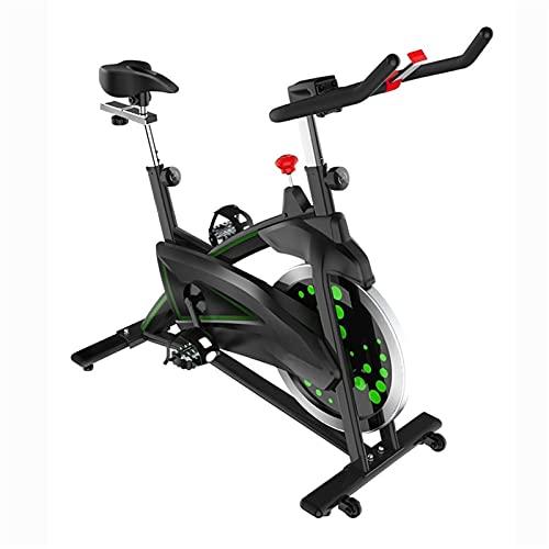 DJDLLZY Estacionaria de Bicicletas Bicicleta de Ejercicio magnetrón de transmisión del cinturón Hogar Hogar Bicicletas Cardio Ejercicio de Bicicletas Pesado Volante de Bicicletas