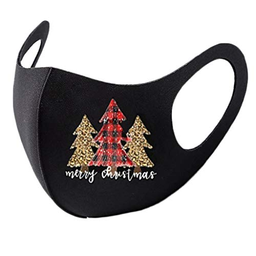 Christmas Face_Masks,Reusable Washable Face Protection Outdoor Dust Face Bandanas for Women Men
