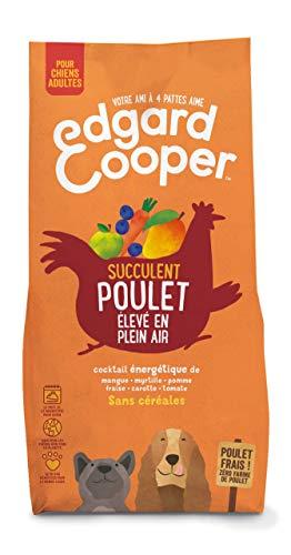 Edgard & Cooper Croquettes Chien Adulte sans Cereales, Nourriture Naturelle 7kg Poulet Frais élevé en Plein Air, Alimentation Saine complète et équilibrée sans Farine de Viande