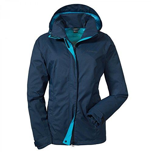 Schöffel Damen Jacket Easy L 3 Jacke Unwattiert, Blau(dress blues), 42