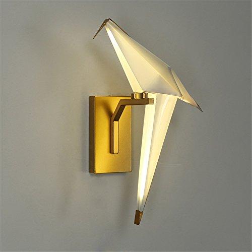 YU-K slaapkamer bedlampje wandlamp minimalistische woonkamer wandlampen straat hal studeerkamer wandlamp trap 1.000 papieren kranen wandlamp led