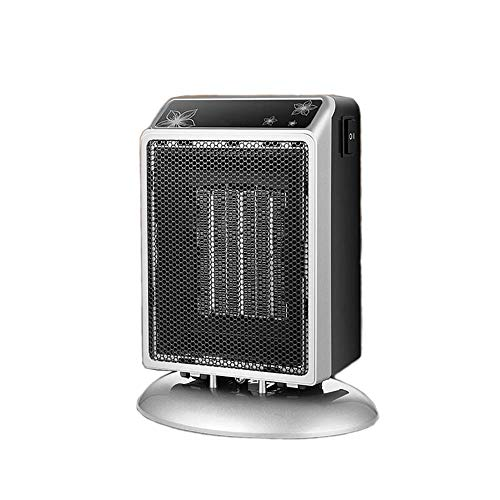 maitexi Desk Heater,Space Mini 500W / 900W Small Portable Electric Heater for Office, Home, Desks, Tabletops (Silver) Electric heaters Space