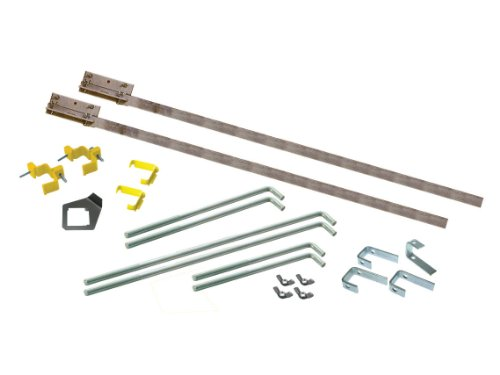 Faithfull FAIPROEXT 2M Bricklayers Building Profiles Kit with Fittings (21 Pieces)