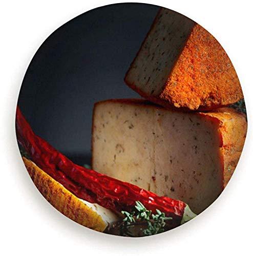 HHHello-Griend-Shop roter Pecorino Schaf Milch Käse Thymian Essen und Trinken Vorspeise Reserverad Reifenabdeckung Wasserdicht staubdicht Universal