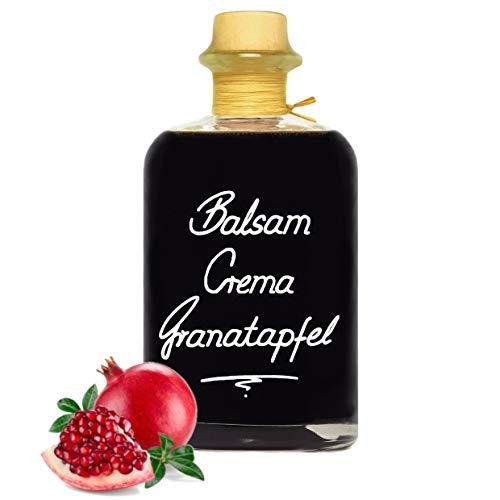Balsamico Creme Granatapfel 1L 3%Säure mit original Crema di Aceto Balsamico di Modena IGP.