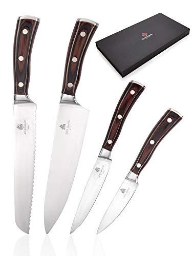 Lewis Samuel Knives | Professional Quality Kitchen Knives Set | German...