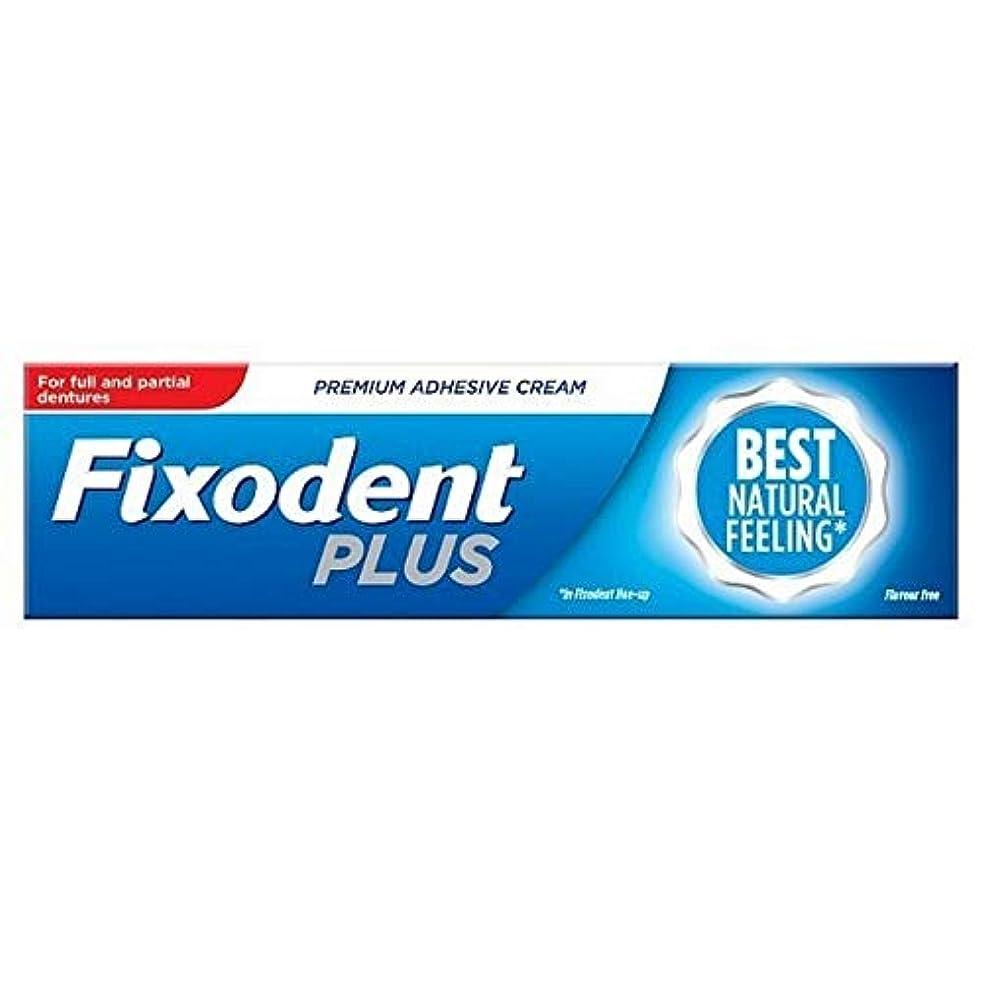 頭収縮ばか[Fixodent] Fixodentプラス亜鉛の無料義歯接着剤40グラム - Fixodent Plus Zinc Free Denture Adhesive 40g [並行輸入品]