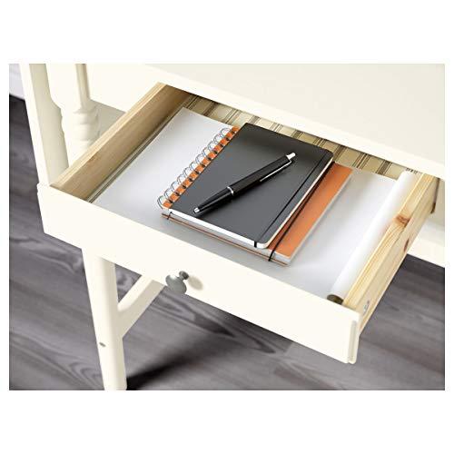 IKEA INGATORP Schreibtisch weiß 73-127 cm x 50 cm x 74 cm