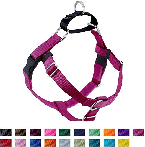 2 Hounds Design Freedom No Pull Dog Harness, Adjustable Gentle Comfortable Control for Easy Dog Walking, for Small Medium and Large Dogs, Made in USA