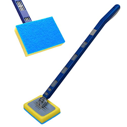 KCT Handheld Household Telescopic Cleaner with Interchangeable H