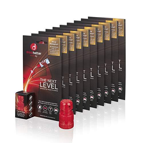 drinkbetter enerxxy 10 x Einzelcaps | Der Power-Drink für jede Situation | Mit wertvollen Zutaten | Zuckerfrei | Vegan