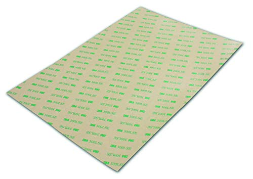 3M Klebepads Klebeband doppelseitig A4 transparent - haftstark auch auf rauen Oberflächen (A4)