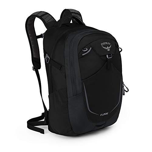 Osprey Flare 22 Rucksack für Arbeit, Schule und Freizeit, unisex - Black (O/S)