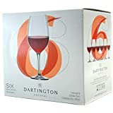 Dartington Crystal Red Wine Set of Six Glasses