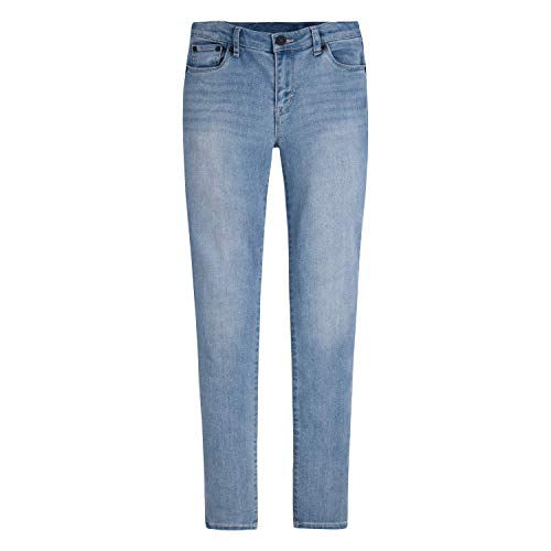 Levi's Girls' Big 710 Super Skinny Fit Performance Jeans, Weathered Indigo, 16