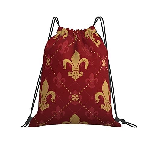 Have a Potato Gym bolsa con cordón, mochila deportiva para hombres, mujeres y niñas, 36 x 42 cm