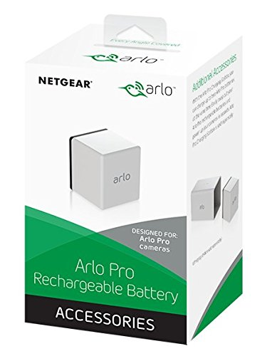 Arlo Certified Accessory - Rechargeable Battery | Compatible with Pro, Pro 2 | (VMA4400)