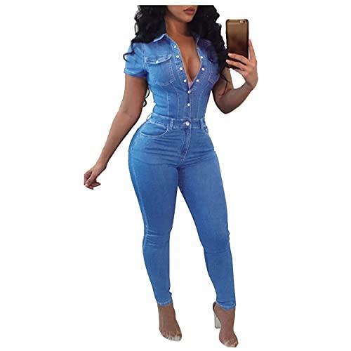 Womens Jumpsuits Plus Size Sexy Off Shoulder Denim Jeans Drawstring Wide Leg Long Pants Jumpsuit Rompers Playsuits