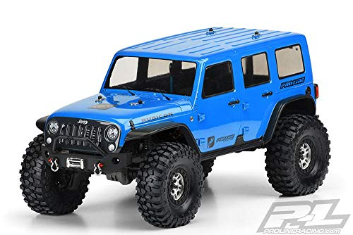 Pro-line Racing 1/10 Jeep Wrangler Unlimited Rubicon Clear Body: TRX-4, PRO350200