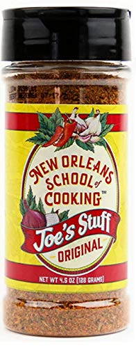 Joe's Stuff Original Blend Seasoning From New Orleans, 4.5 Oz