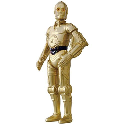 メタコレ スター・ウォーズ #12 C-3PO (新たなる希望) 高さ約78mm ダイキャスト製 塗装済み 可動フィギュア