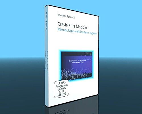 Crash-Kurs Medizin - Mikrobiologie - Infektionslehre - Hygiene [2 DVDs]