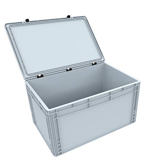 AUER Packaging GmbH DSEB305 Eurobehälter/Euro Box mit Scharnierdeckel ED 64/32 HG