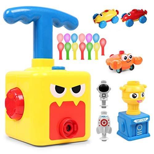 Barlingrock Kinder Ballon Auto Spielzeug,Children Inertial Power Ball Car,pädagogische Spielzeug Trägheit Power Car Wissenschaftliches Experimentelles -Trägheitsspielzeug Spaß Kind Geschenk