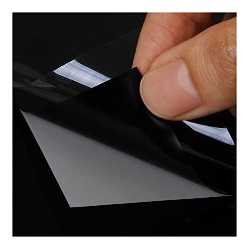 YEZIO Cine de Coches- 1.52x4m Negro Glossy Film Auto Paint Etiqueta película de la protección PPF Bici del Coche de la Motocicleta Vespa Protectora Accesorios Wrap (Size : 1.52m x 4m)