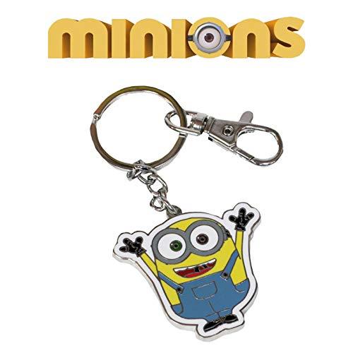 Minions - Llavero metálico, 5 cm (SD Toys SDTUNI89607)