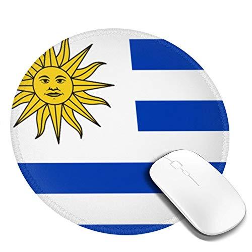 LQKSSLBO Redondo Alfombrilla De Ratón Bandera Uruguay, Alfo