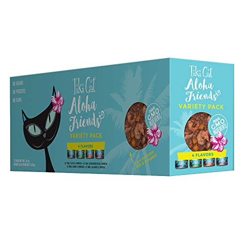 Tiki Cat Aloha Friends Low-Carb Wet Cat Food