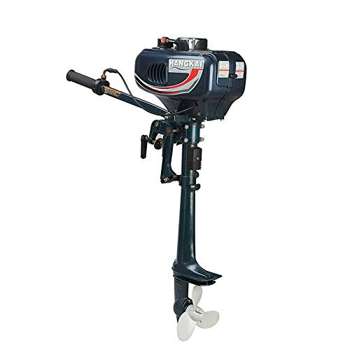 Buy DNYSYSJ Heavy Duty Outboard Motor Boat Engine, 2500W with Water Cooling System/CDI System(2 Stro...