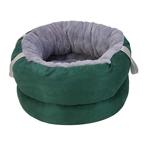 DreamedU Cama para Mascatas Cojin Perro Gatos Cama Perros Cama de Lujo de Cachorros Fácil de Limpiar Cama para Mascotas con Tapa Extraíble