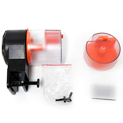 VOVOL - Mini alimentador automático de peces, temporizador de tanque