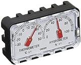 クレセル クレセル 精密温度計・湿度計 卓上用 HD-120