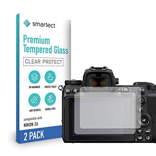smartect Pellicola Protettiva per Nikon Z6 / Z7 [2 Pezzi] - 9H Vetro Temperato – Design Ultra Sottile – Applicazione Anti-Bolle – Anti-Impronte