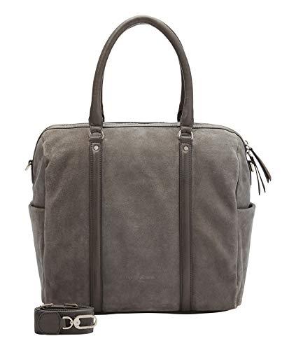 Liebeskind Berlin Handtasche, Oak Bowling Bag, Large, gun grey