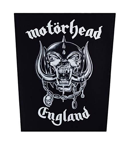 Motörhead England Rückenaufnäher