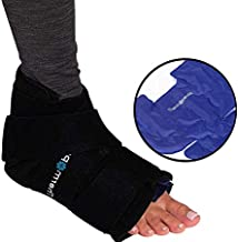 Thermopeutic Cold Compression Wrap for Sprained Ankle, Plantar Fasciitis, Achilles Tendonitis and Foot - Extremely Form Fitting & Temperature Retention